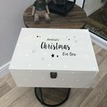 VERY LARGE Personalised Christmas Eve Box ANY NAME Special Gift ~ Elf on Shelf